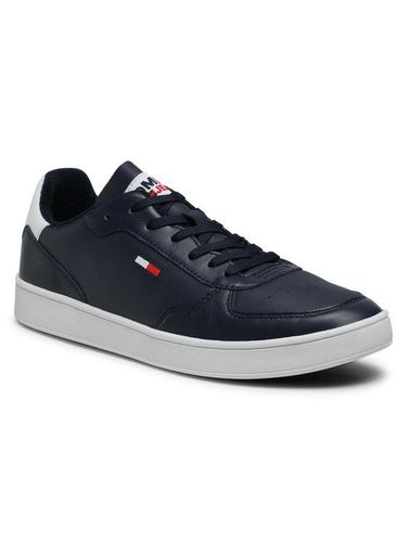 Tommy Jeans Sneakersy Tommy Jeans Essential Cupsole EM0EM00573 Granatowy 359.00PLN