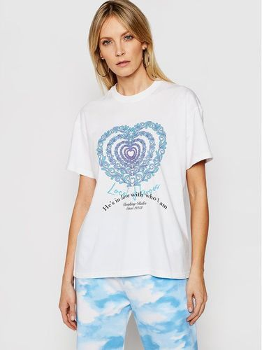 Local Heroes T-Shirt Infinity Love SS21T0012 Biały Relaxed Fit 169.00PLN