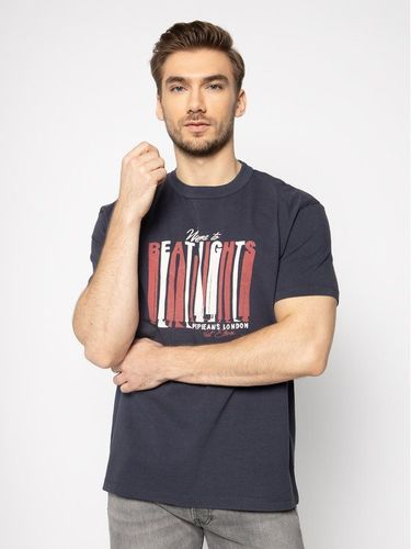 Pepe Jeans T-Shirt Bentley PM506904 Granatowy Loose Fit 79.00PLN