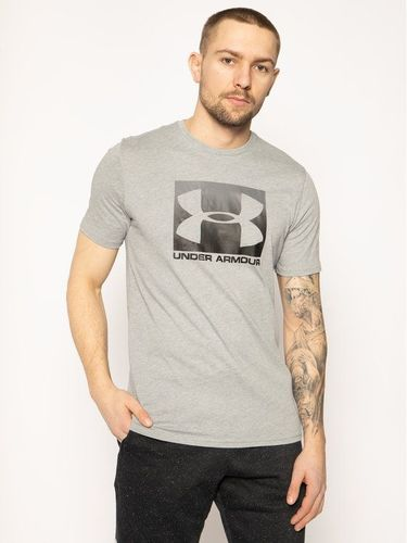 Under Armour T-Shirt Ua Boxed Sportstyle 1329581 Szary Loose Fit 59.00PLN