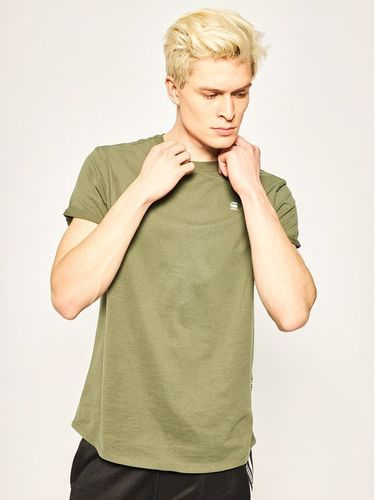 G-Star Raw T-Shirt Sustainable D16396-B353-2199 Zielony Relaxed Fit 99.00PLN