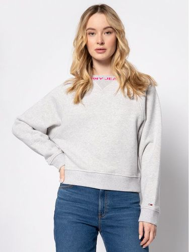 Tommy Jeans Bluza Tjw Branded DW0DW07554 Szary Relaxed Fit 259.00PLN